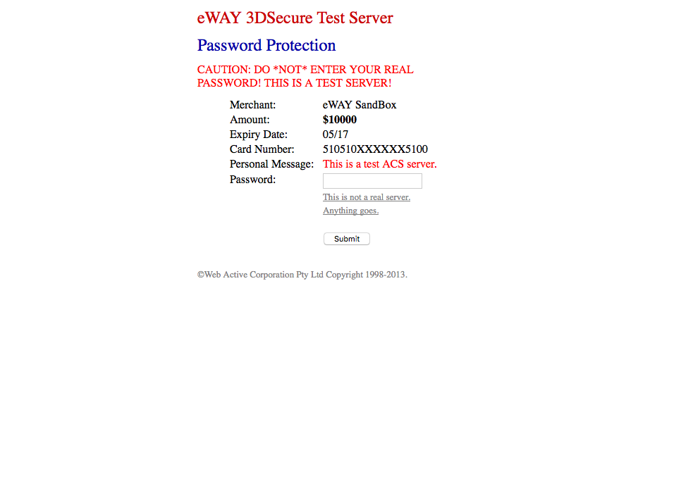 eWay Shared payments page 2